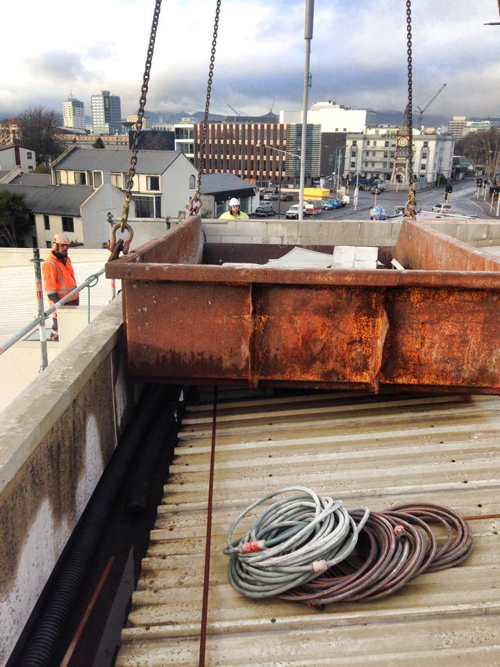 Commercial Construction Job undertaken by H3 Construction at 400 Montreal Street