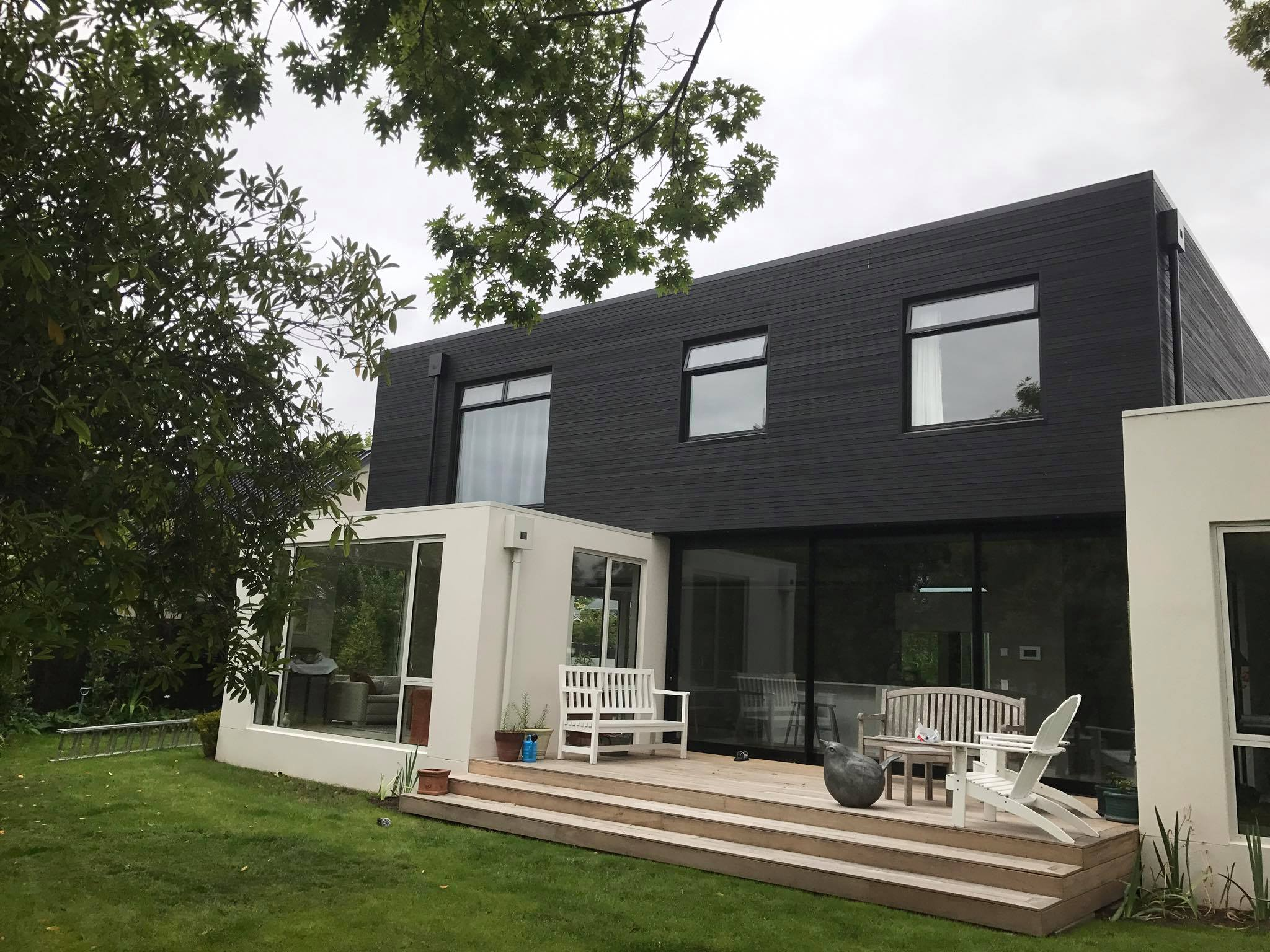 Ellis House, an architectural home in Canterbury built by the team at H3 Construction