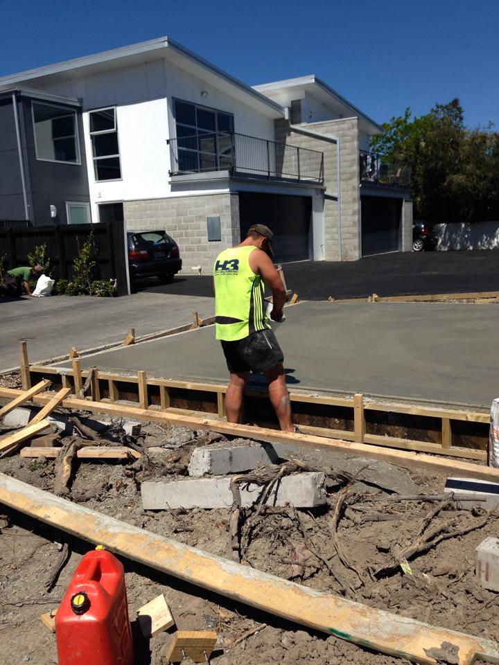 Christchurch Architectural home built by the builders at H3 Construction