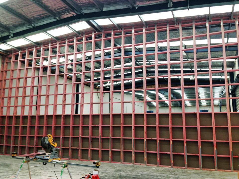 A commercial construction project in Christchurch, Canterbury undertaken by the skilled builders at H3 Construction