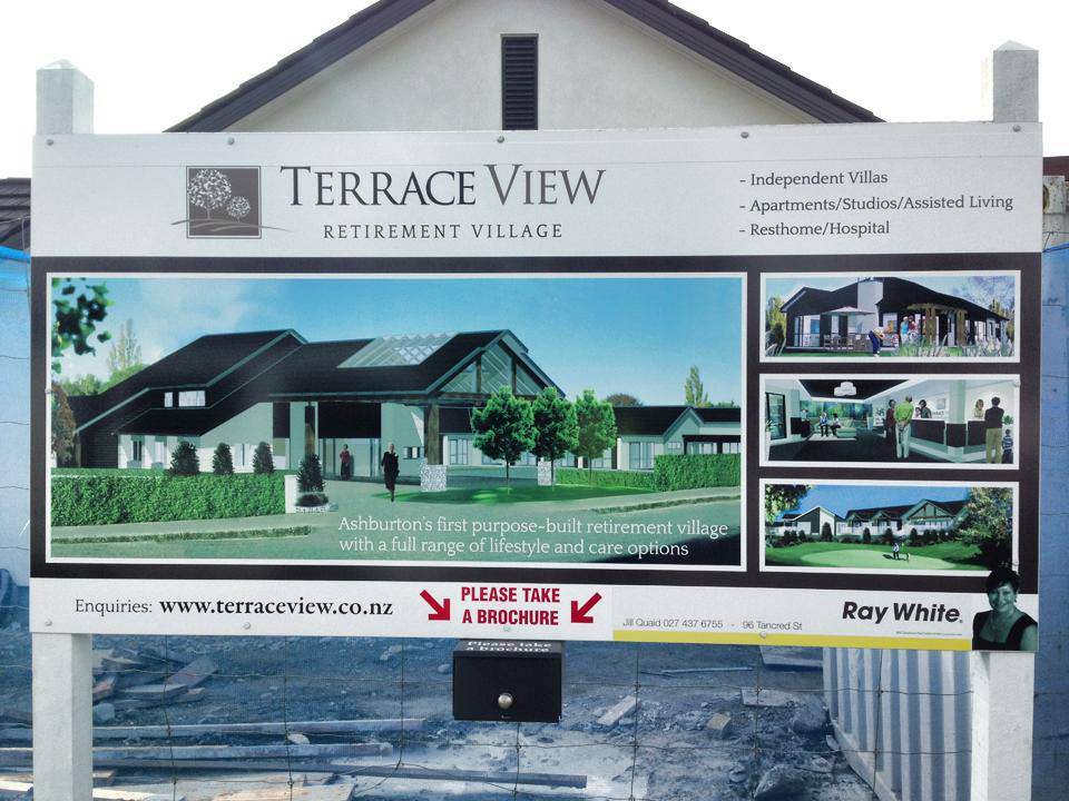 The team working on the Terrace View Retirement Village Commercial Construction project