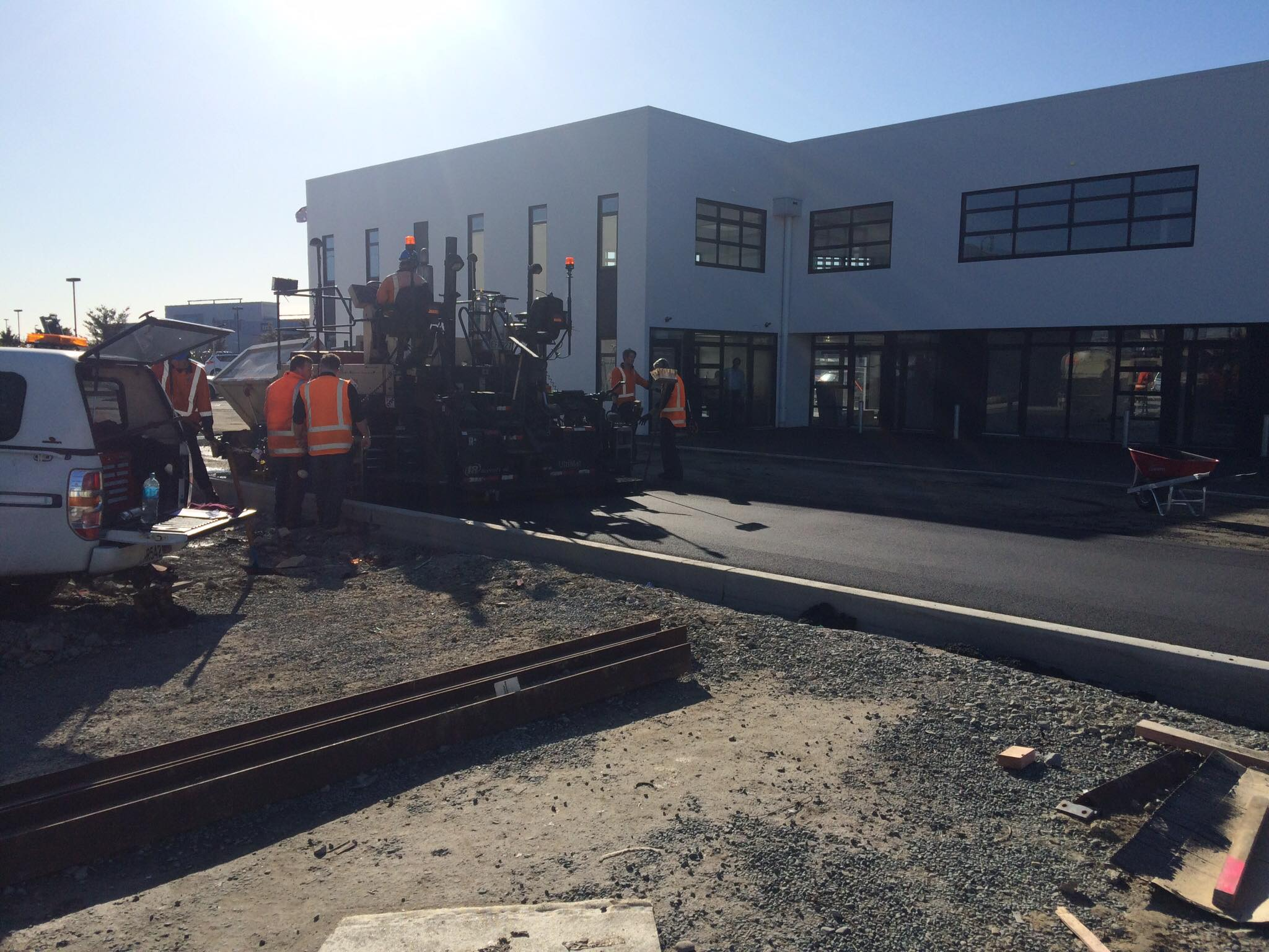 The Tyne Street Commercial Construction project in Christchurch