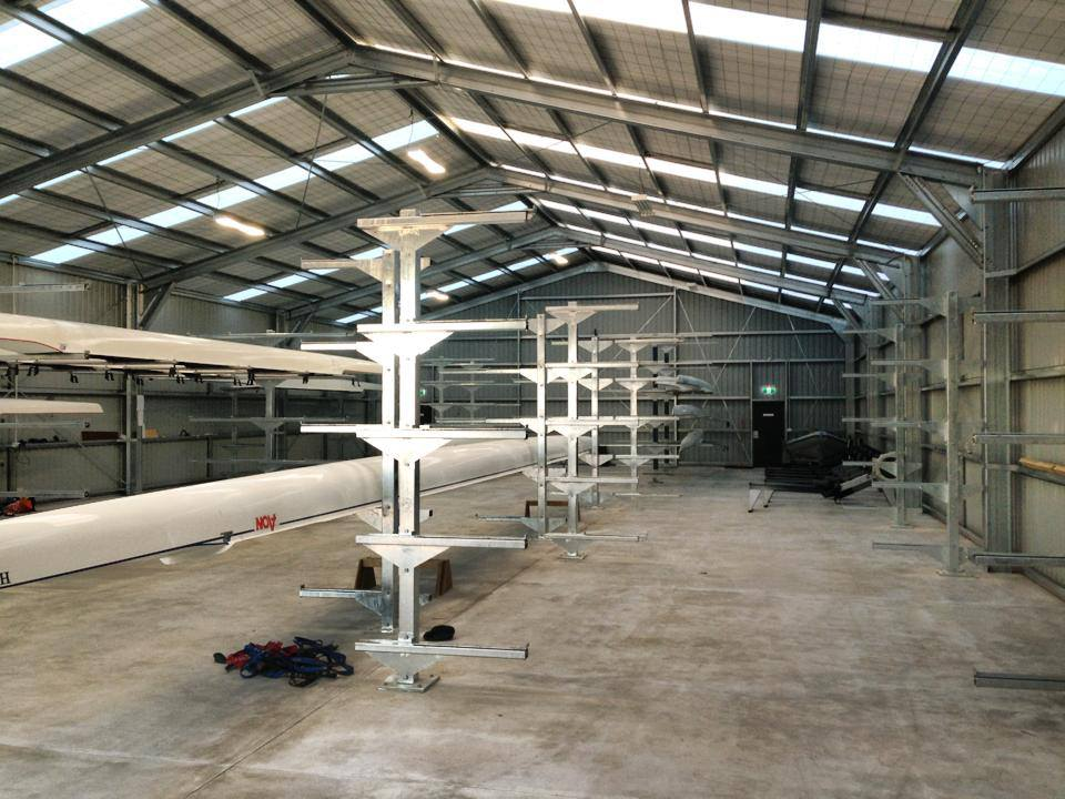 Canterbury Rowing Club Commercial Construction undertaken by the builders at H3 Construction