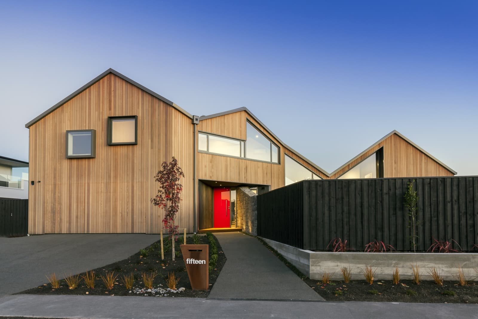 An architectural new build in Christchurch that our builders built